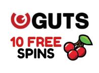 10 Free Spins Deposit Free at Guts!