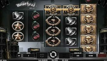motorhead free slots game with bonus