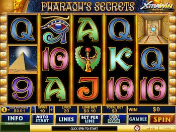 pharaoh secrets free slot machine game with bonuses