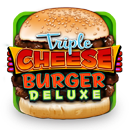 Triple Cheese Burger Deluxe