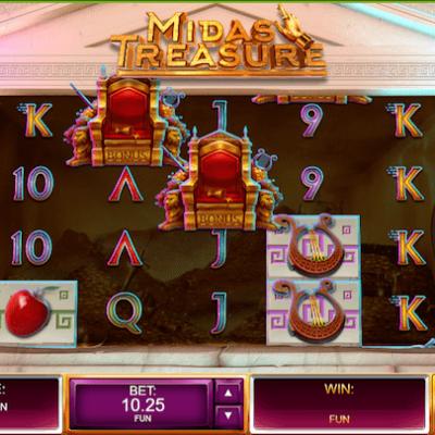 Play Midas Treasure with a Bonus!