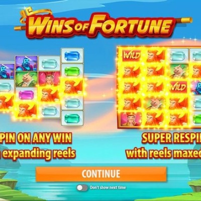 Play Wins of Fortune Online
