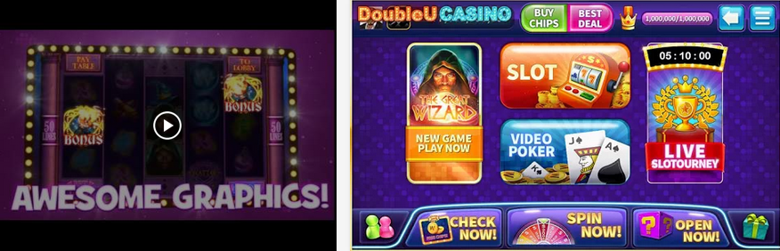 Double U Casino - free slots game for android