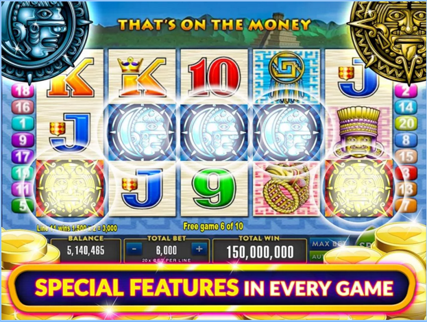 Heart of Vegas Android Slots