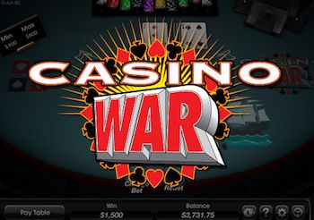 strategy to win at casino war