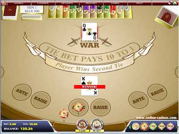 how to win at casino war every time