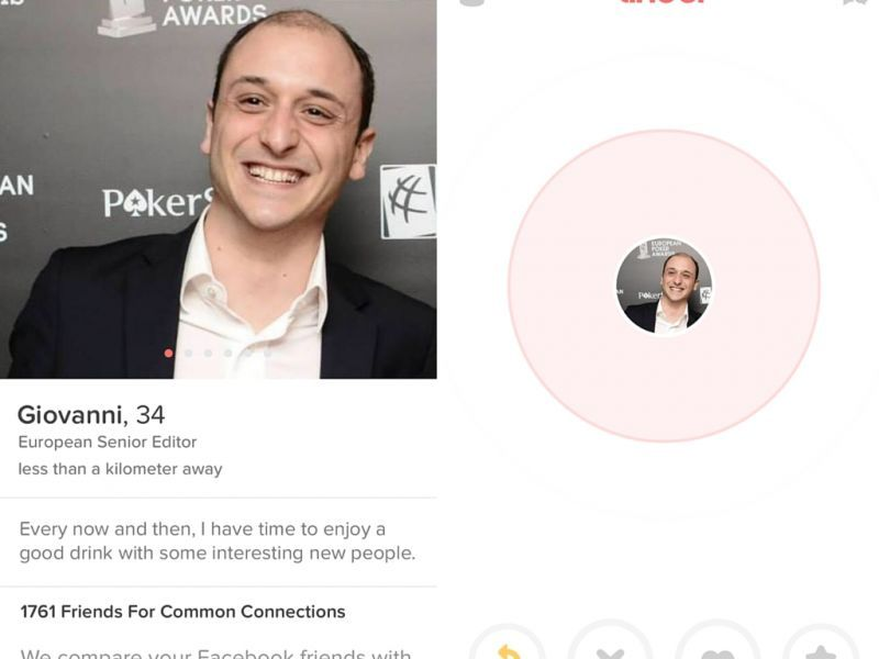 Look, Mom! I am on Tinder!
