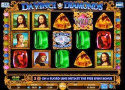Free Online pokies- DaVinci Diamonds