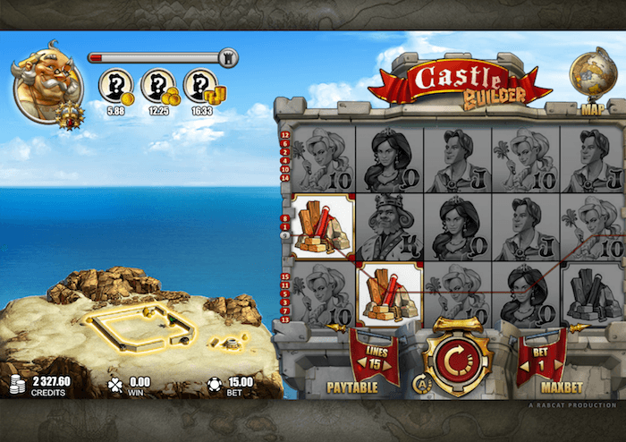 Castle builder online slots UK