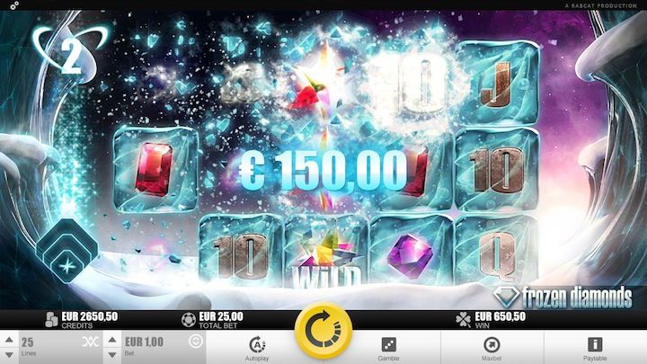 Frozen Diamonds Top Rated Online Slots
