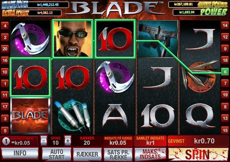 Blade Marvel Slot Machine