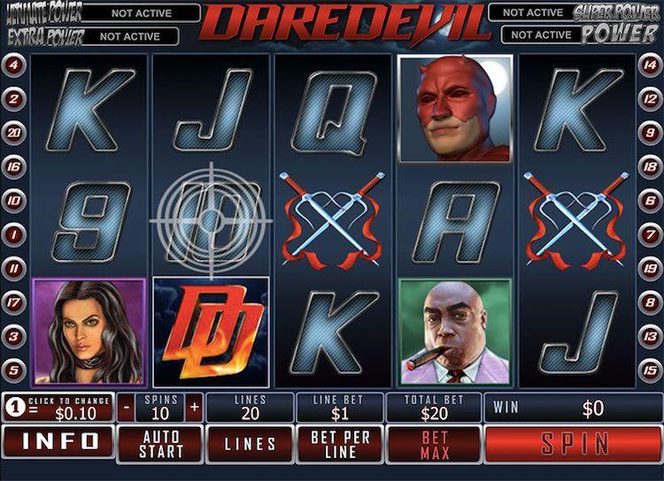 Daredevil Slots