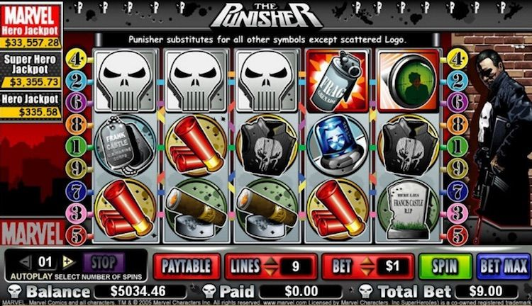 The Punisher Online Slots