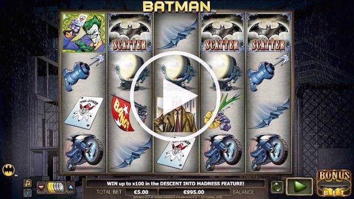 Batman online slots