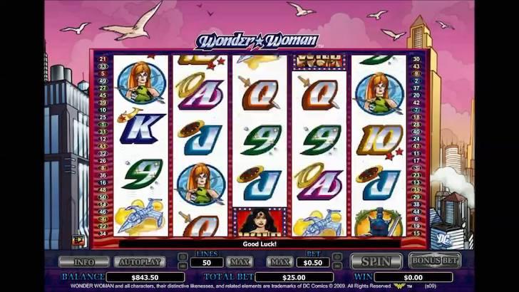 Wonder Woman Online Slots