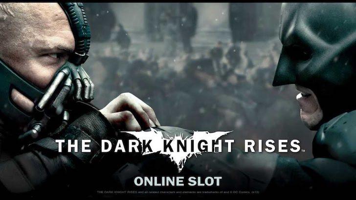 The Dark Knight Rises Online Slots