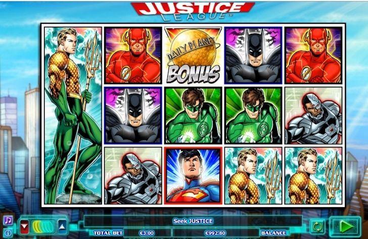 Justice League Online Slots
