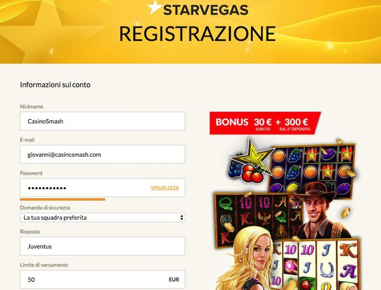 Lista casino bonus senza deposito