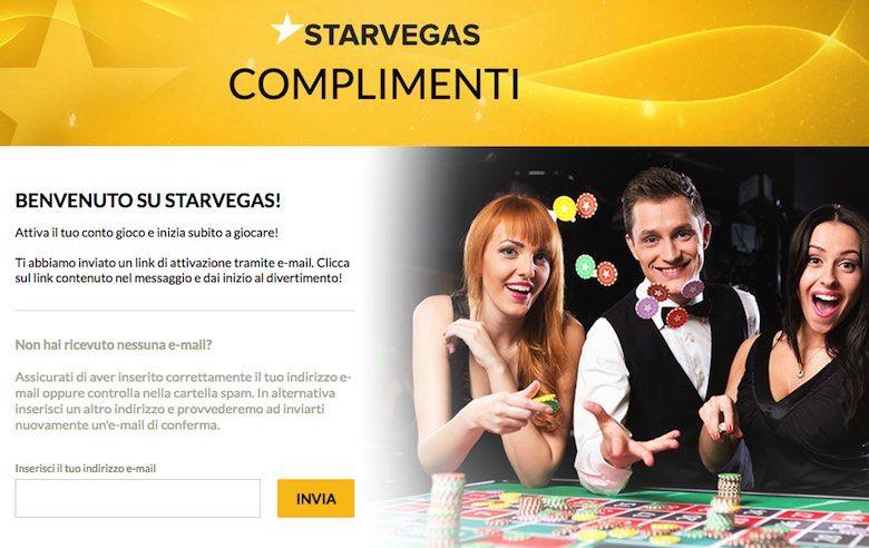 StarVegas bonus per giocare senza deposito