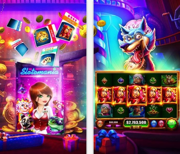 Slotomania free slots game for Android