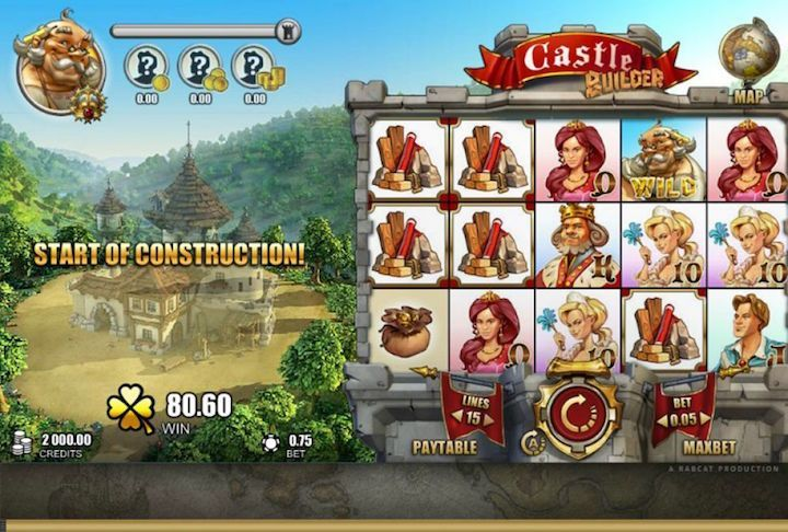 Castle Builder II most popular Slots