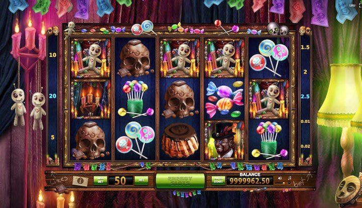Vodoo Candy Shop online slots