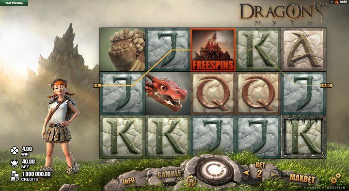 Dragons Myth Slots Game