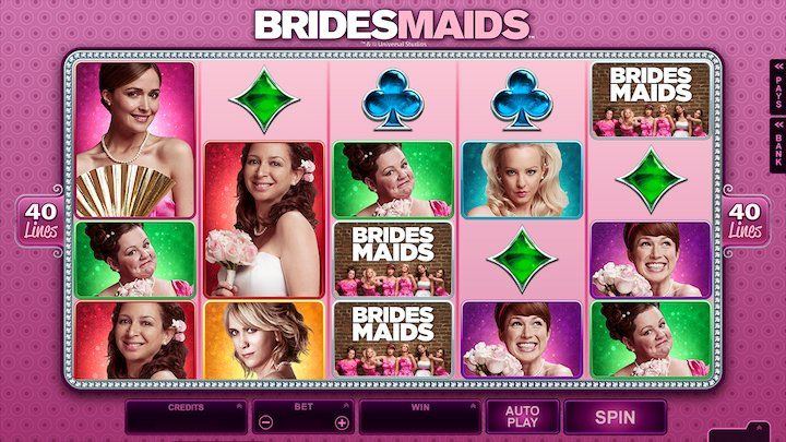 Popular online slot games: Bridesmaid