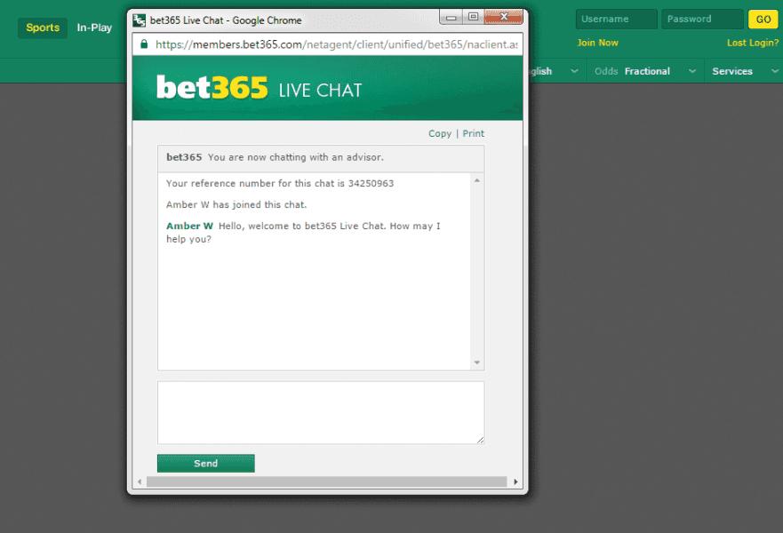 Bet365 Online Casino Customer Service