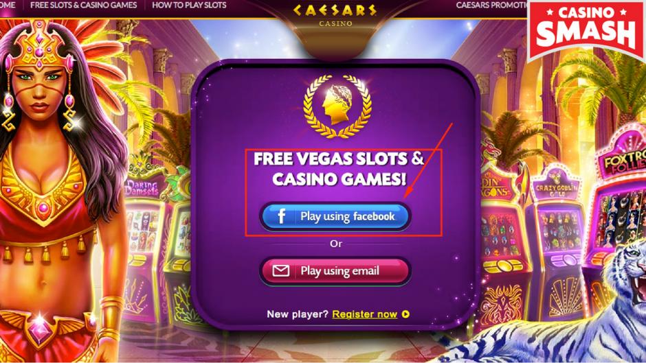 come ottenere free coins su Caesars Casino