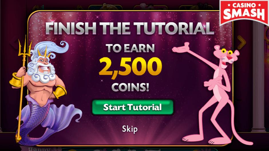 trucco per 2500 free coin gratis su Caesars