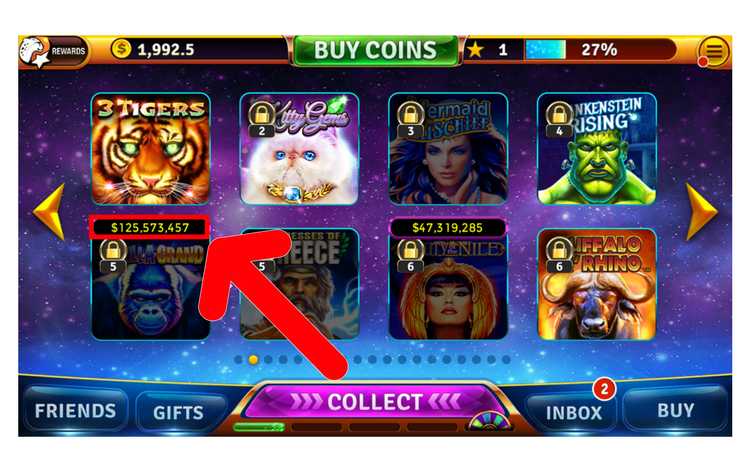 Collect house of fun bonus u casino