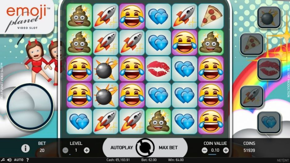 Emoji Planet New Slots Game