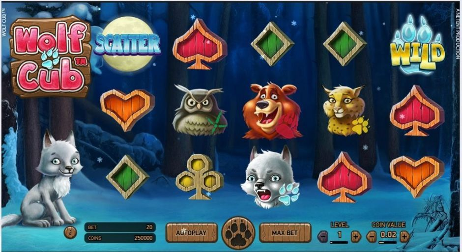 Wolf Cub New Online Slots