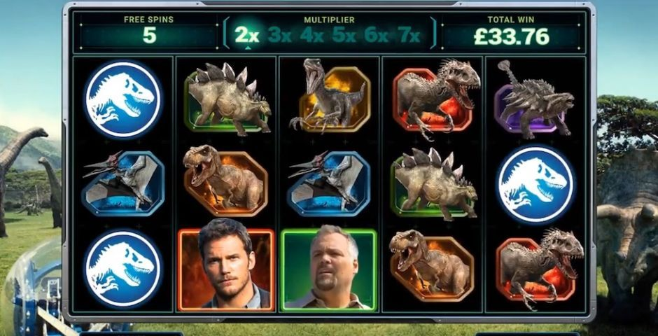 Jurassic World New Slots Game