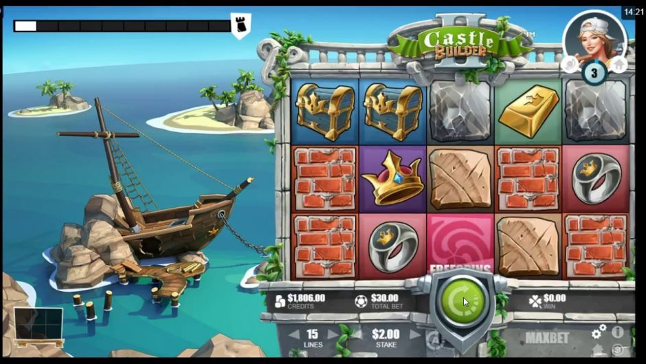 Microgaming New Slot Castle Builder 2