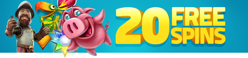 Earn 20 wager-free free spins when you sign up to Lucky Dino casino.