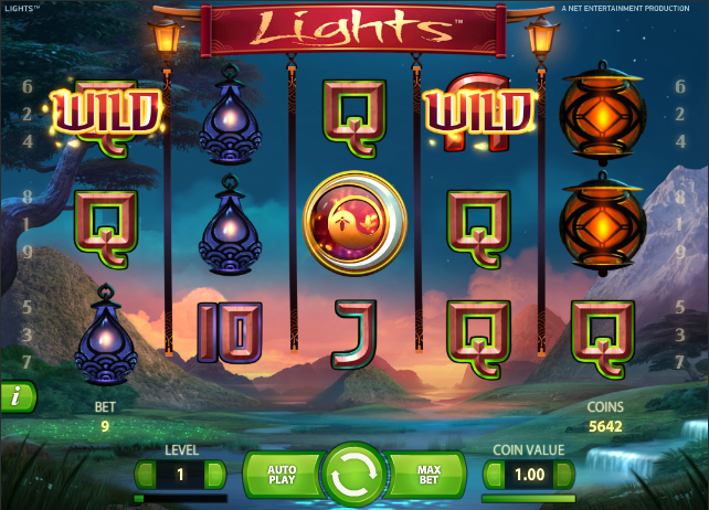 Get 20 free spins on Lights at Lucky Dino Casino