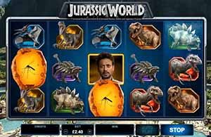 Jurassic World slot at Jackpot City