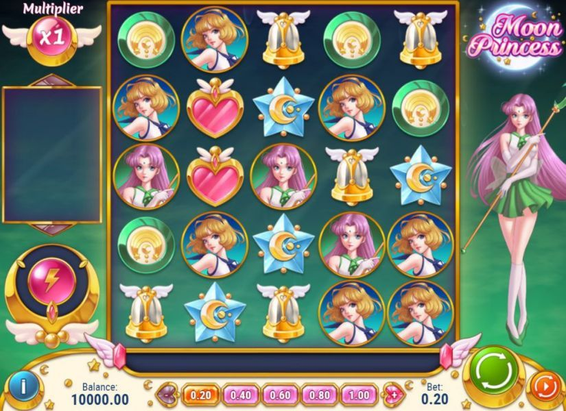 Moon Princess 50% Bonus at Lapalingo.com