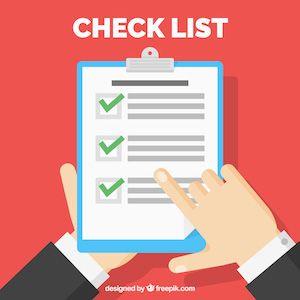 No Deposit Bonus Checklist