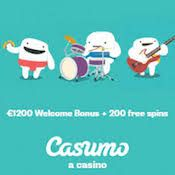Casumo Casino iPad app to play slots