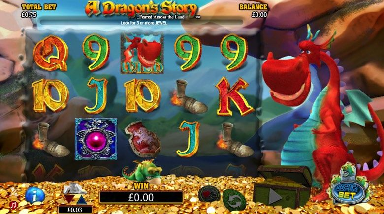 A dragon's story 3d slots