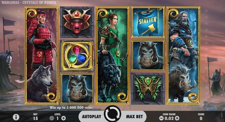 Warlord is an amazing 3d slot machine game to play in 2018