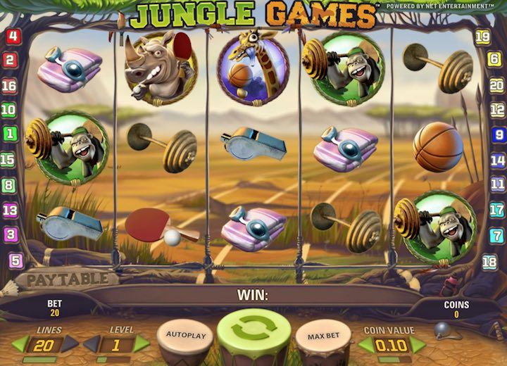Jungle Games is a super fun netent slots