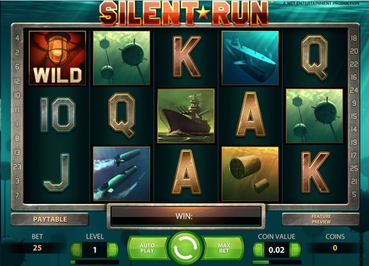 Slient Run Top Netent Slots