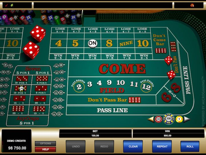 Online Craps Games that Pay Real Money