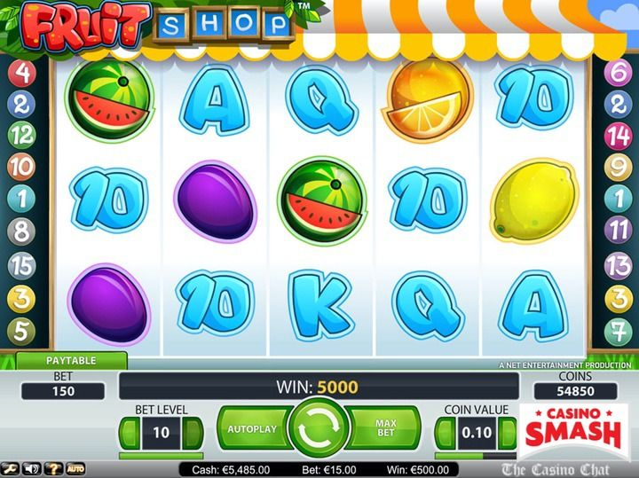 free fruit machine