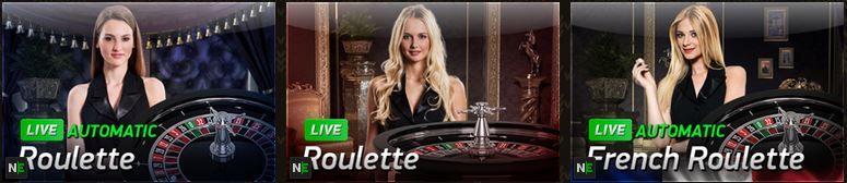 live dealer roulette argo casino