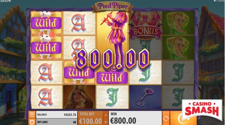 Pied Piper Online Free Slots Game